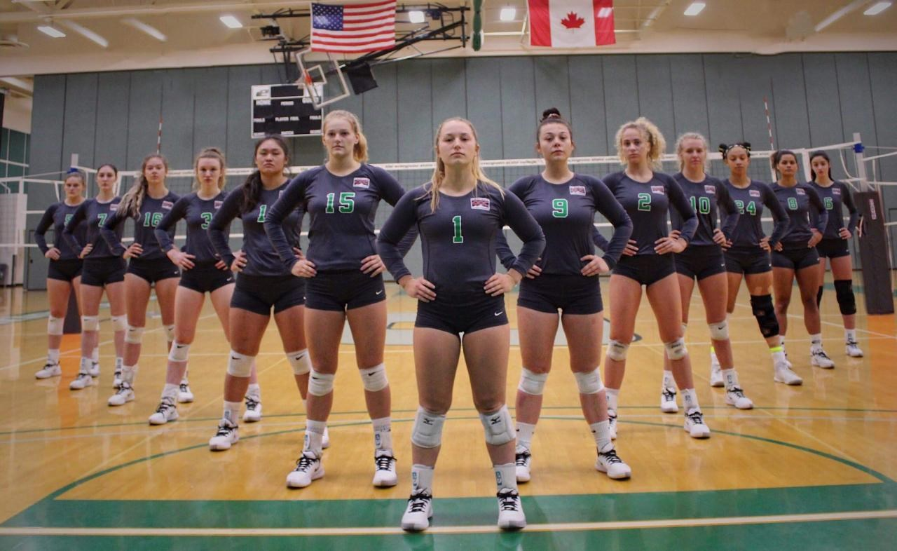 2019 Women S Volleyball Roster Evergeen State College Athletics